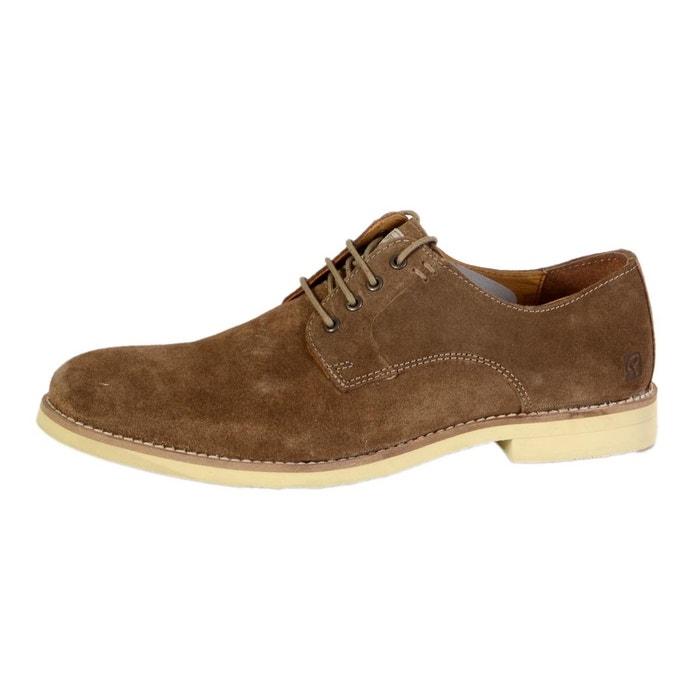 Chaussure mollo taupe  marron Redskins  La Redoute