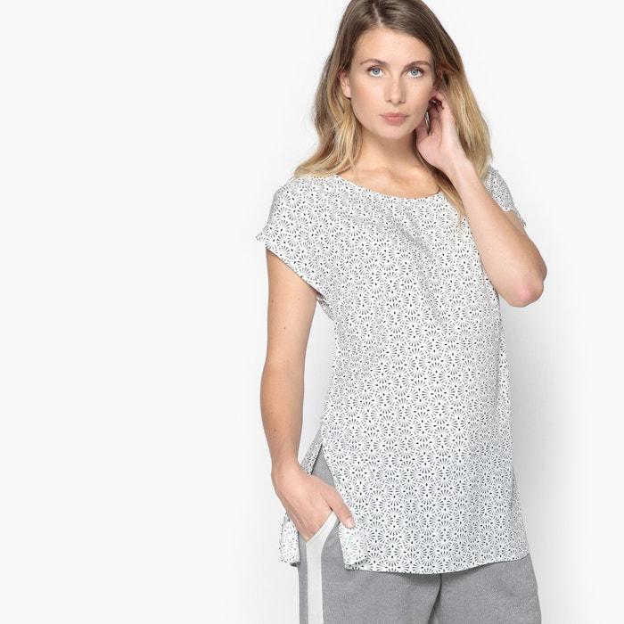 Printed Short-Sleeved Tunic  ANNE WEYBURN image 0