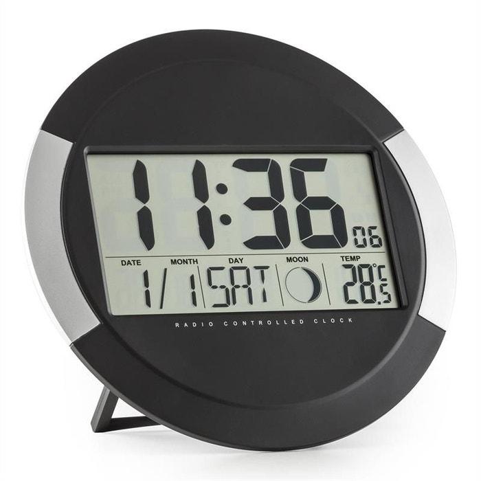 Oneconcept clockwork horloge murale numérique sans fil calendrier ...