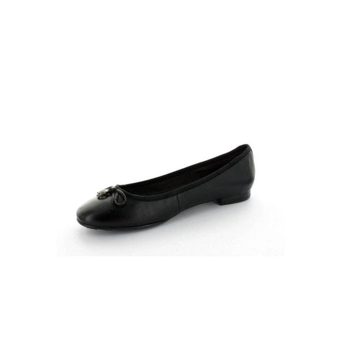 S Olive Black Ballet Flats S.oliver 22102