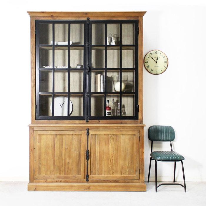 best buffet vaisselier industriel portes mtal authentiq j made in meubles with maison du monde. Black Bedroom Furniture Sets. Home Design Ideas