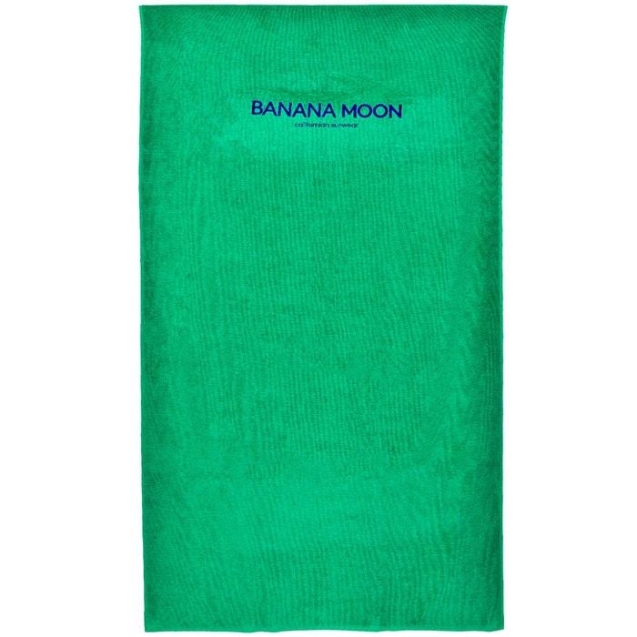 Drap De Plage Towely Plain Vert Banana Moon La Redoute