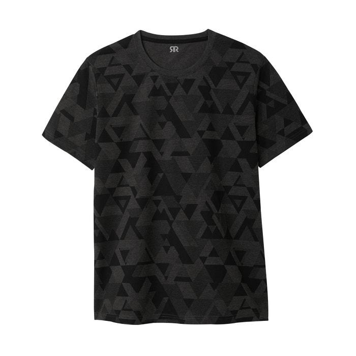 Image T-shirt con scollo rotondo fantasia La Redoute Collections