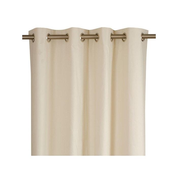 rideau pr t poser doublure beige toiles de mayenne la redoute. Black Bedroom Furniture Sets. Home Design Ideas