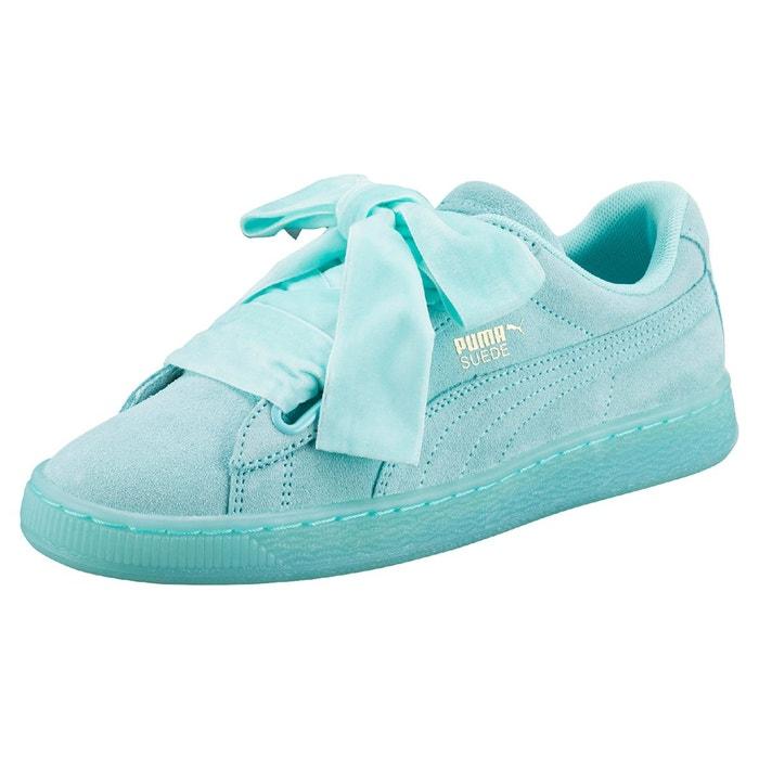puma chaussure femme vert d'eau