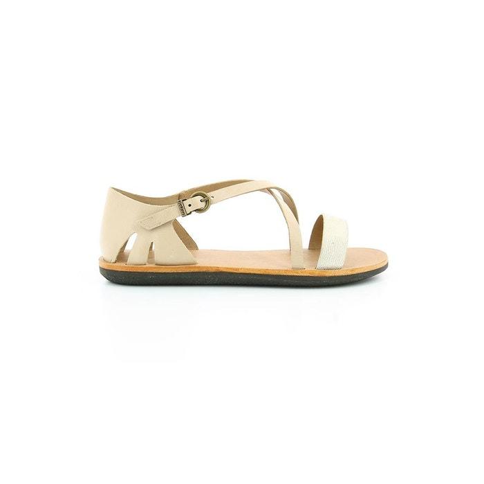 Sandale cuir femme spartame Kickers Vente Pas Cher Confortable 100% Authentique Vente En Ligne Véritable Ligne HHrdrOCxfs