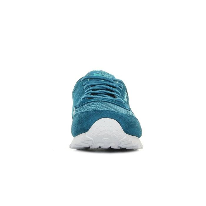 Baskets femme classic leather sc split blue teal bleu turquoise Reebok