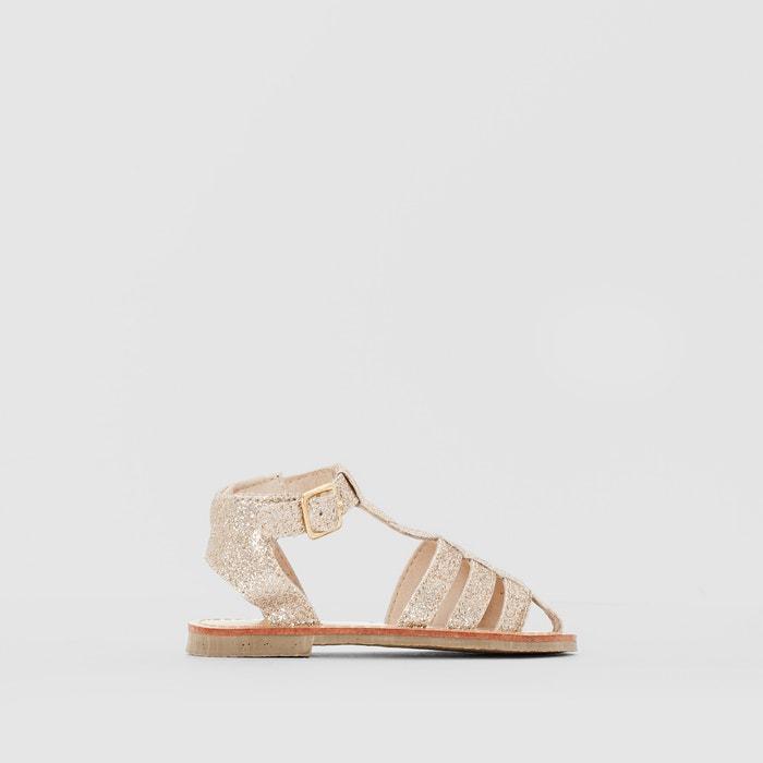 Sandálias com purpurinas R mini