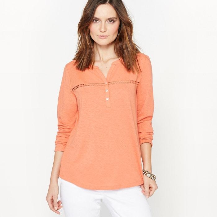 Image T-shirt pur coton flammé ANNE WEYBURN