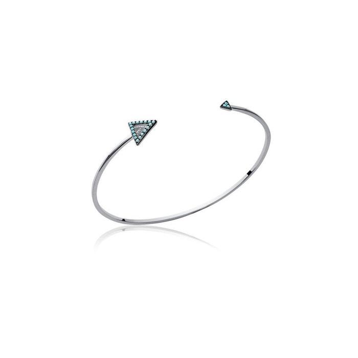 Bracelet jonc 'triangle' Prix de Vente Moins Cher SefC4ET0XU