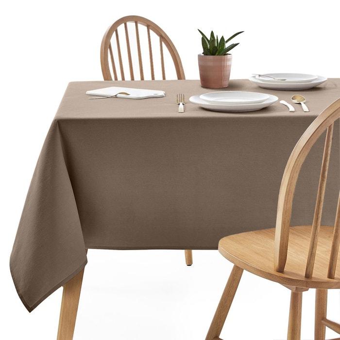nappe unie polyester scenario la redoute interieurs la. Black Bedroom Furniture Sets. Home Design Ideas