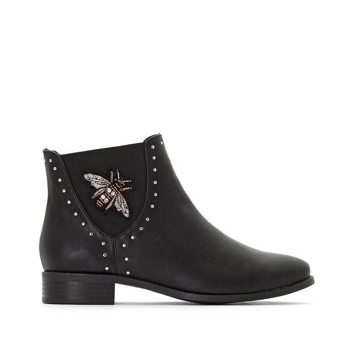 Boots cloutées à détail bijoux abeille  MADEMOISELLE R image 0