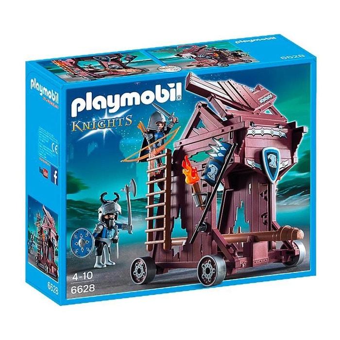 Playmobil 6628 chevaliers tour d 39 attaque des chevaliers du faucon coule - La redoute playmobil ...