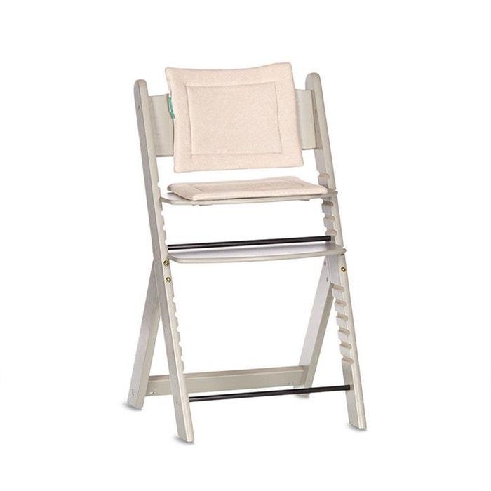 coussin r ducteur pr maman pour chaise haute volutive gris clair premaman la redoute. Black Bedroom Furniture Sets. Home Design Ideas