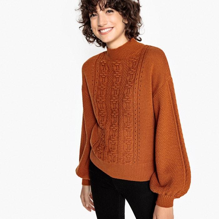 Jersey con cuello redondo y mangas farolillo  MADEMOISELLE R image 0