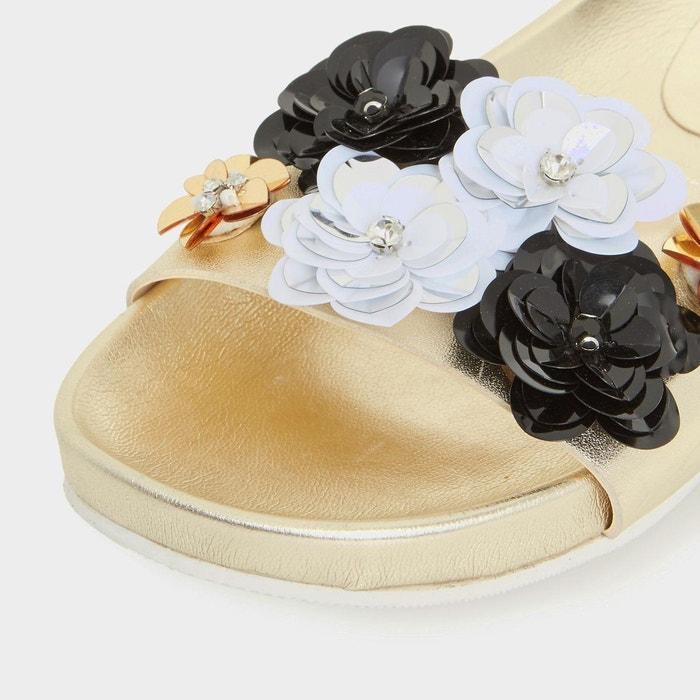 DUNE de fleurs Sandales ornées LONDON LAURALIE rRRwB1Yxq