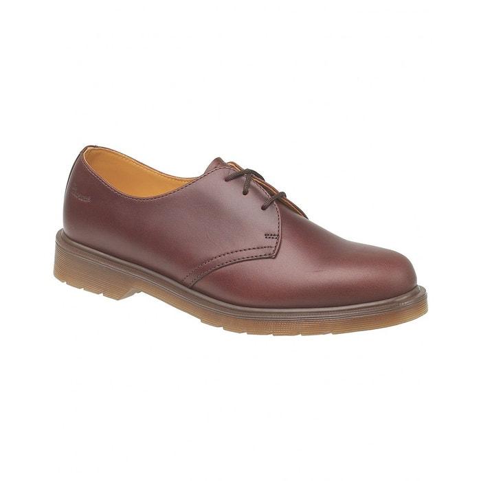 Dr martens 1461w - chaussures en cuir - femme (eur 36-41) fauve Dr Martens