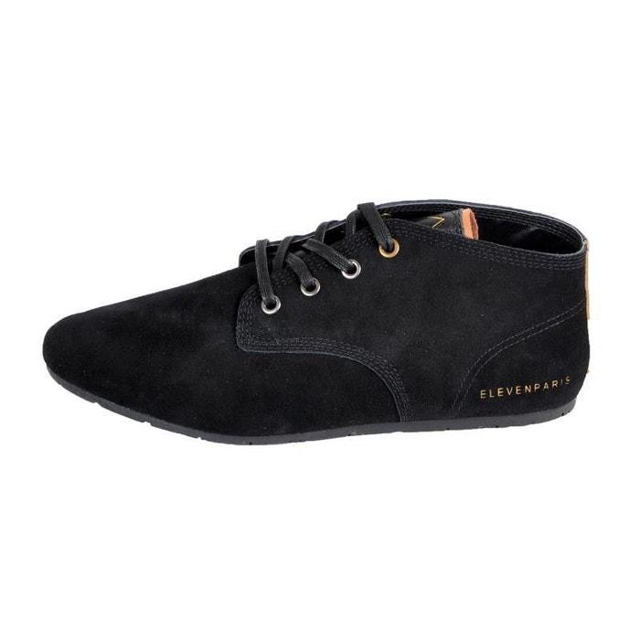 afd7eab58318de Chaussure eleven paris bassuede noir noir Eleven Paris | La Redoute