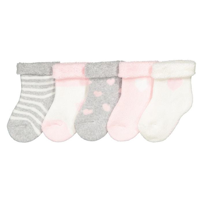 Confezione da 5 paia di calze bouclé 15-20 Confezione da 5 paia di calze bouclé 15-20 LA REDOUTE COLLECTIONS