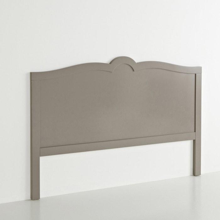 t te de lit laqu e sydia marron taupe la redoute interieurs la redoute. Black Bedroom Furniture Sets. Home Design Ideas