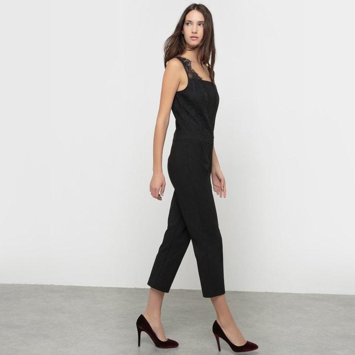 Image Combinaison-pantalon 7/8 et dentelle MADEMOISELLE R