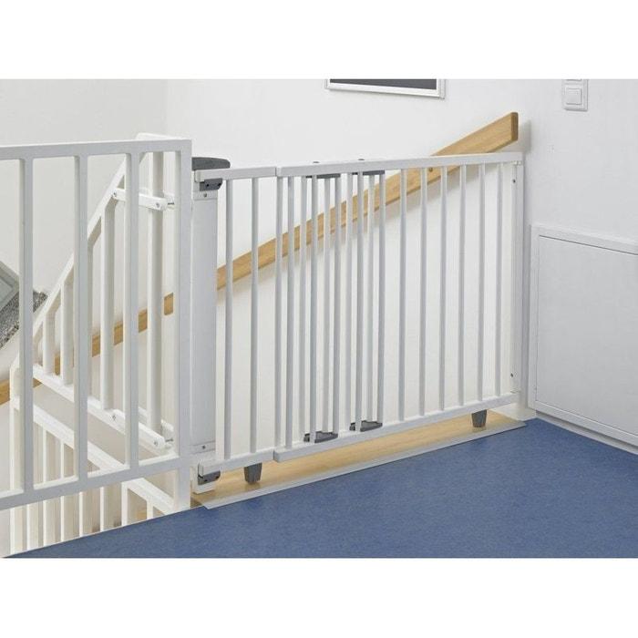 barri re de s curit pivotante bois blanc escalier 70. Black Bedroom Furniture Sets. Home Design Ideas