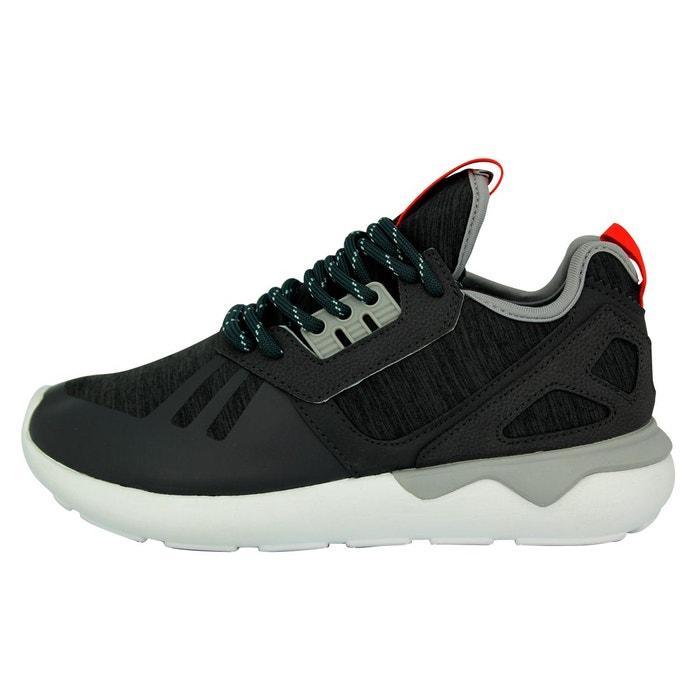 reputable site 1f7a7 a003f ... Adidas Originals Hombre Moda Cursor De Zapatos De De Deporte Tubular  Gris Zapatillas Tejer rrdAPq ...