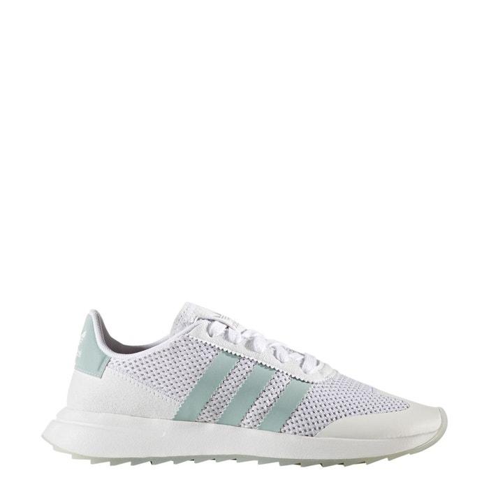 Baskets flb w   blanc/vert Adidas Originals   La Redoute