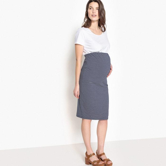 de punto embarazo de La Redoute Falda Collections TnqwnX0Y