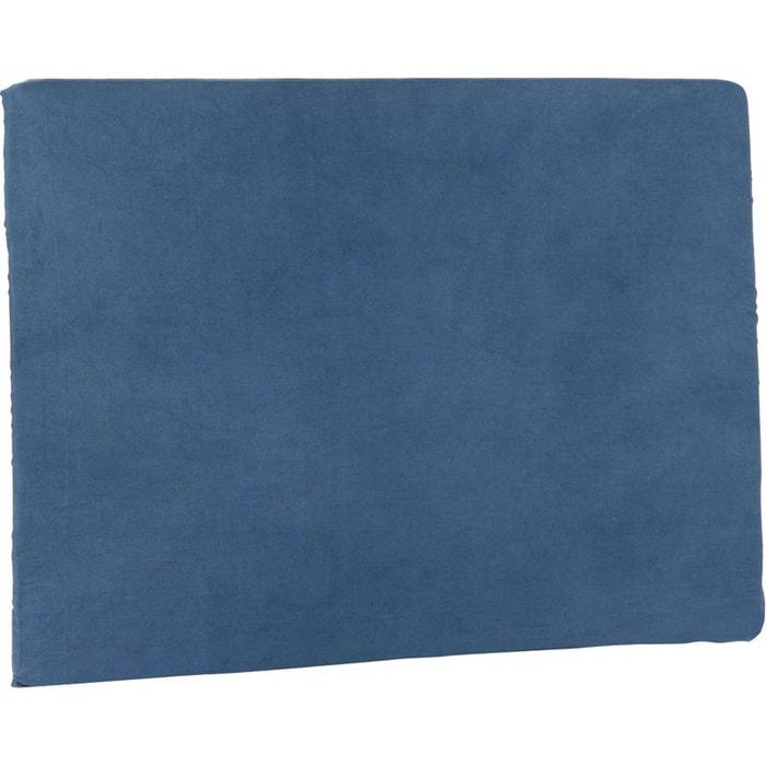 Housse pour t te de lit bleu bleu amadeus la redoute for Housse pour tete de lit