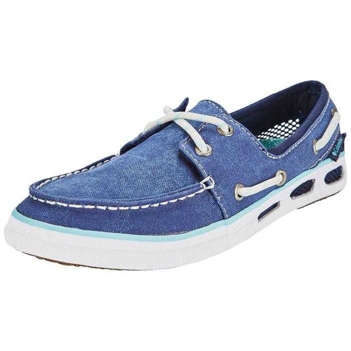 f4d7762ee72 Vulc n vent boat canvas - chaussures femme - bleu bleu Columbia