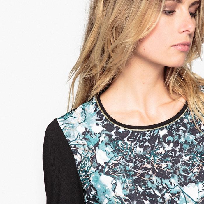 ANNE dos WEYBURN de tejidos estampada Camiseta YxnqwrC0Y