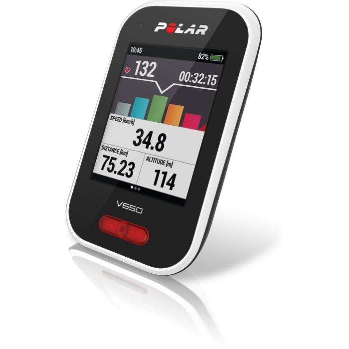Montre GPS POLAR Pack V650 HR + Cad/Vit