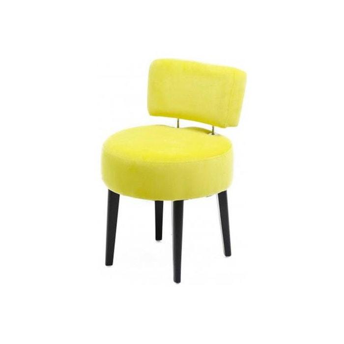 fauteuil crapaud jaune joyce jaune declikdeco la redoute. Black Bedroom Furniture Sets. Home Design Ideas