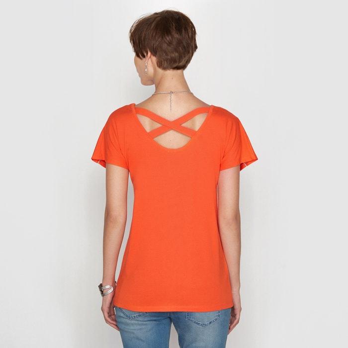 Image T-shirt cotone / Modal ANNE WEYBURN