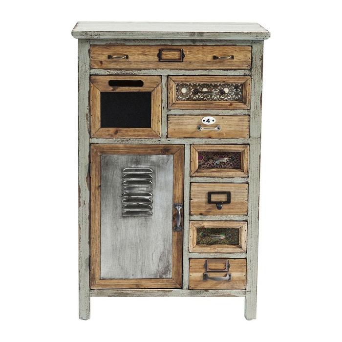 commode goa 75cm kare design marron kare design la redoute. Black Bedroom Furniture Sets. Home Design Ideas