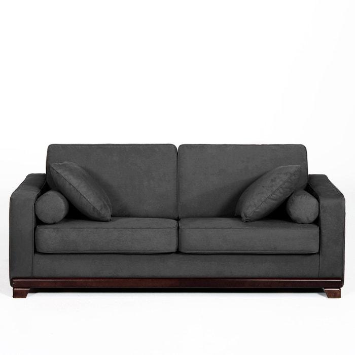 afbeelding 2- of 3-zit canapé, vast, uitstekend comfort, half gevlochten katoen, Edwin La Redoute Interieurs