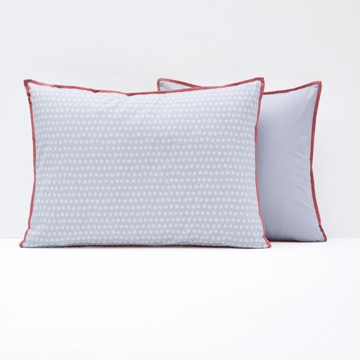 housse de coussin ou d oreiller duo la redoute interieurs la redoute. Black Bedroom Furniture Sets. Home Design Ideas