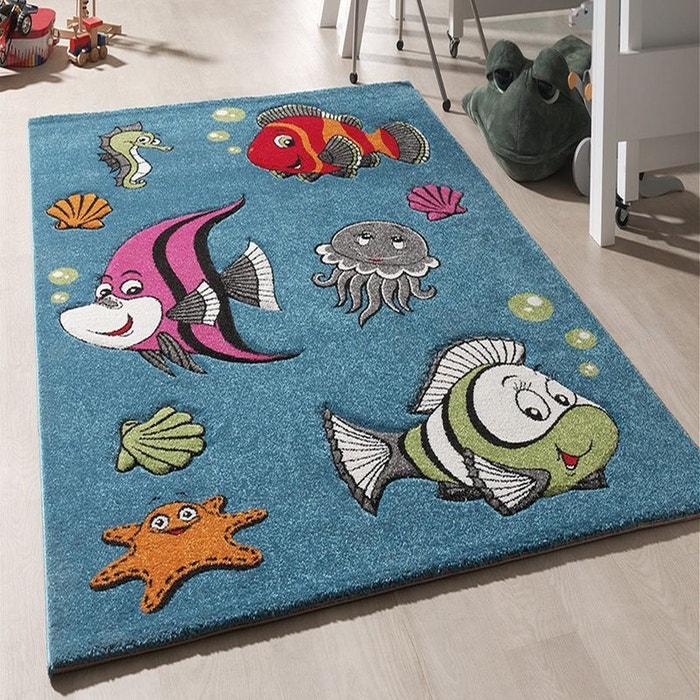 tapis pour enfants chambre chambre kids poissons polypropylne un amour de tapis image 0 - Tapis Chambre