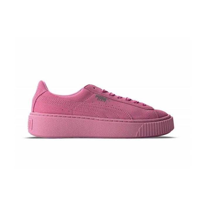 Puma Platform Reset - 363313-02 Rose - Chaussures Baskets basses Femme