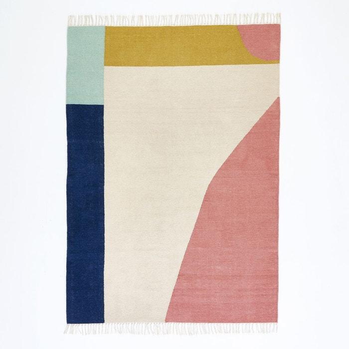 tapis tiss plat kilim en laine ankara multicolore la redoute interieurs la redoute. Black Bedroom Furniture Sets. Home Design Ideas