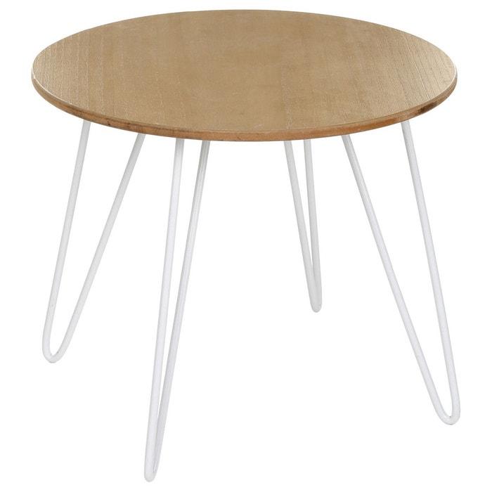 Table à café Metsa - Blanc ATMOSPHERA