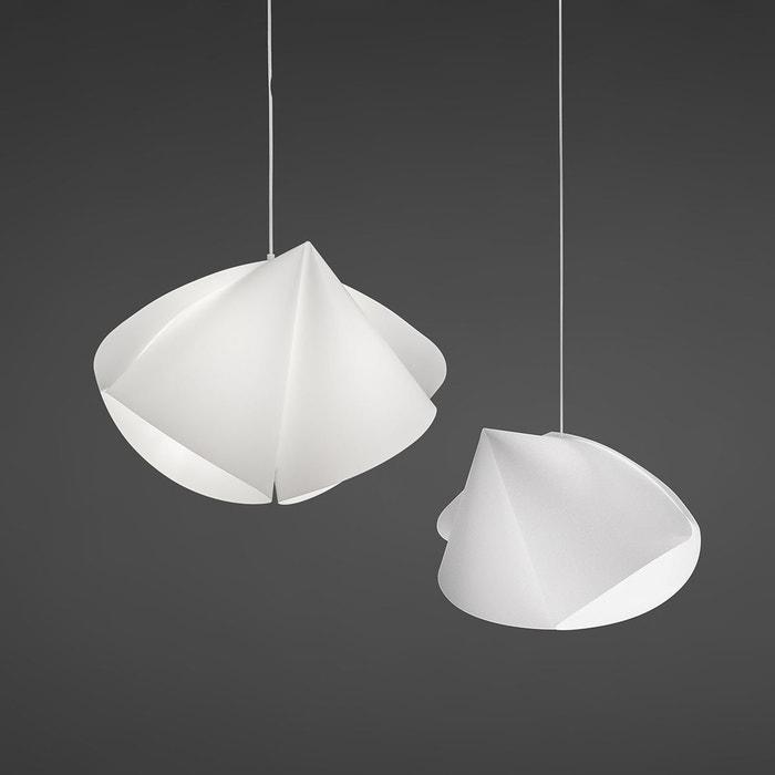 suspension design plumo lumineux blanc flux la redoute. Black Bedroom Furniture Sets. Home Design Ideas