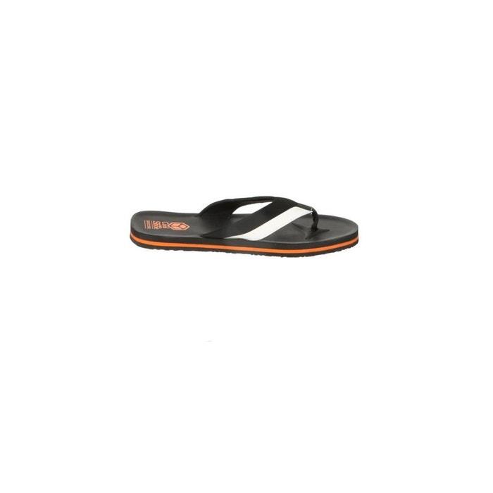Tongs cool shoe lorrez black/white/orange noir Cool Shoe