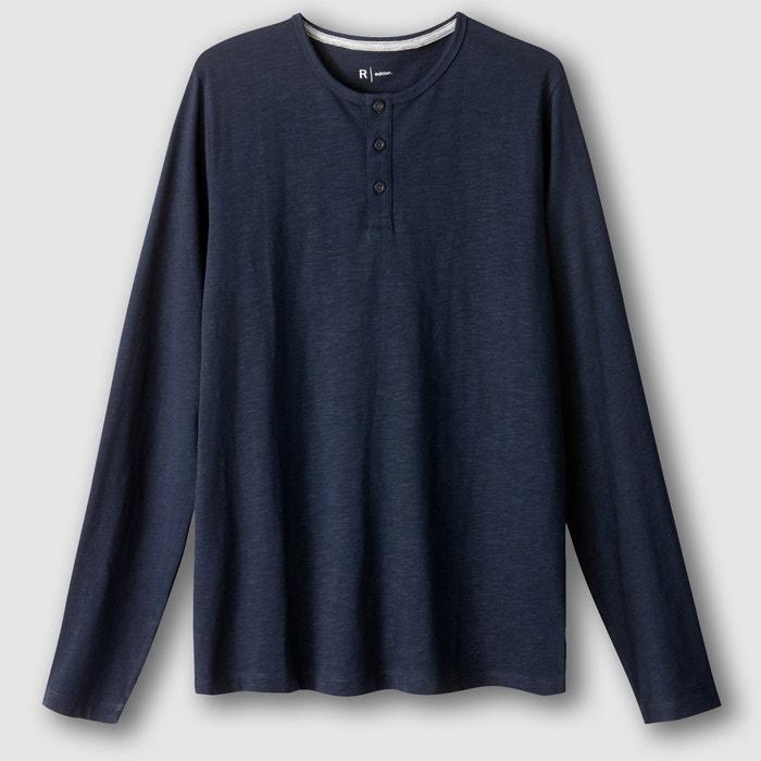 Image Shirt mit Henley-Ausschnitt, lange Ärmel R édition