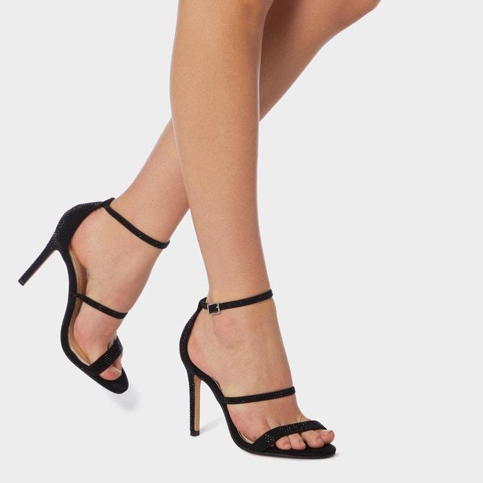 Sandales à talons hauts et lanières en strass miahh Head