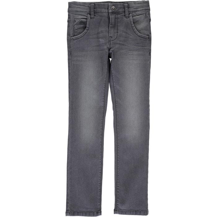 Jeans em ganga, corte direito, 8 -14 anos NAME IT