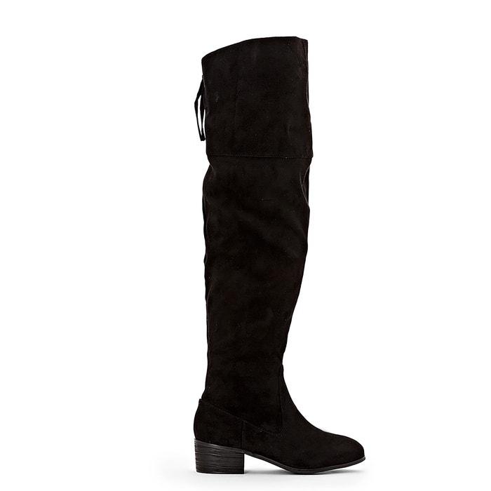 Hoge laarzen met rits, brede voet 38-45  LA REDOUTE COLLECTIONS PLUS image 0
