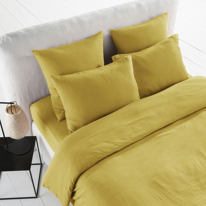 housse de couette gaze de coton feverole am pm la redoute. Black Bedroom Furniture Sets. Home Design Ideas