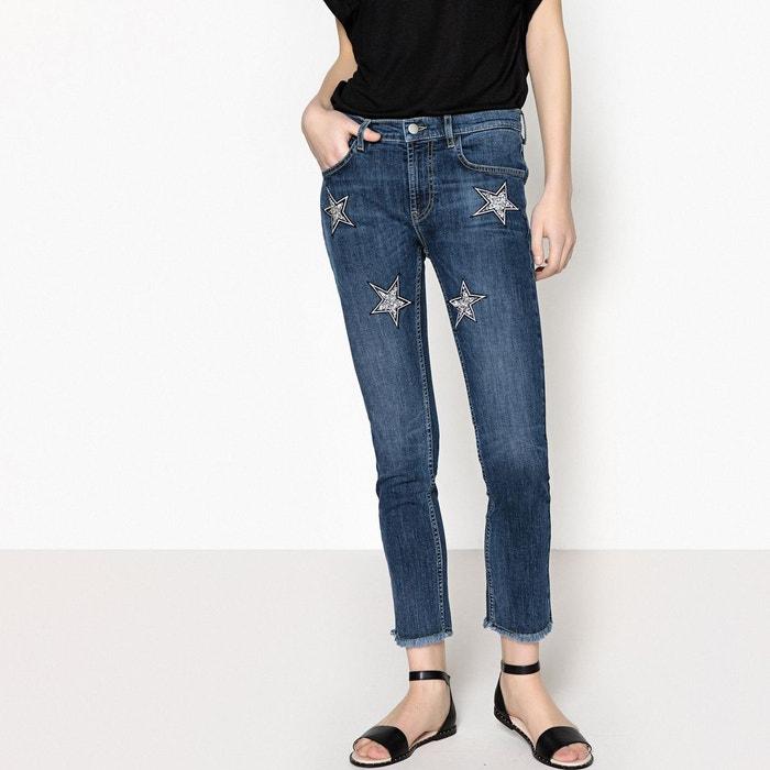 Jeans patchs étoiles  LA REDOUTE COLLECTIONS image 0